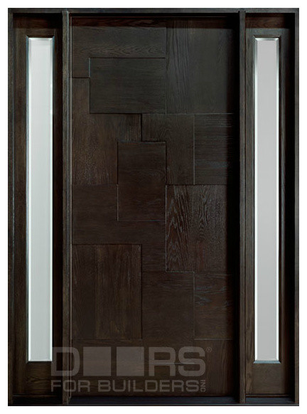 Modern Collection (Custom Solid Wood Doors) contemporary-front-doors