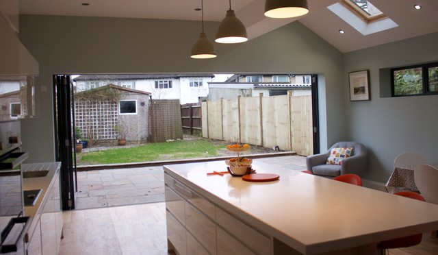 Kitchen Extension & Internal Remodelling contemporary-kitchen
