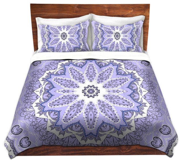 Duvet Cover Twill Fairy Dream Mandala Purple