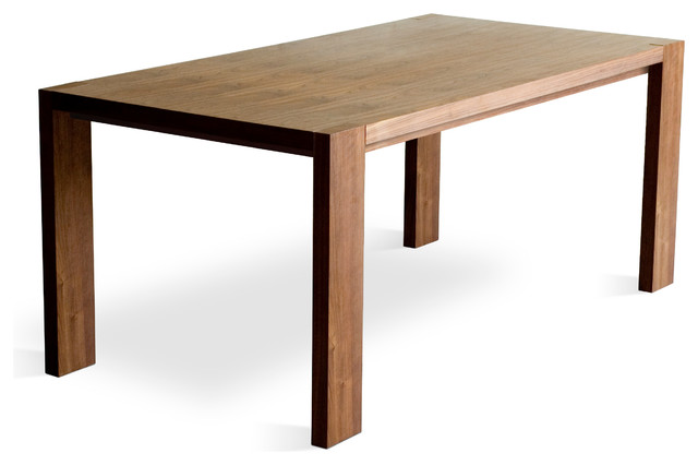 Gus Modern Plank Dining Table Modern Dining Tables By Design