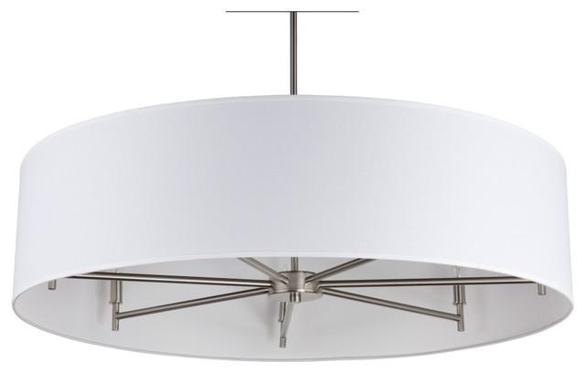 white drum pendant light  soul speak designs, Lighting ideas