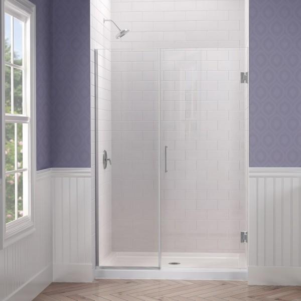 DreamLine SHDR-245057210-04 Unidoor Plus Shower Door modern-showers