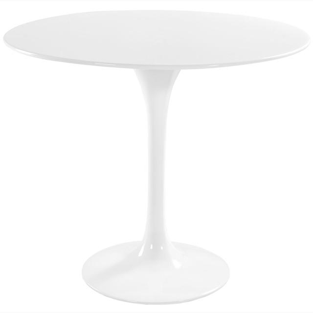 "36"" Eero Saarinen Style Tulip Dining Table in White modern-dining-tables"