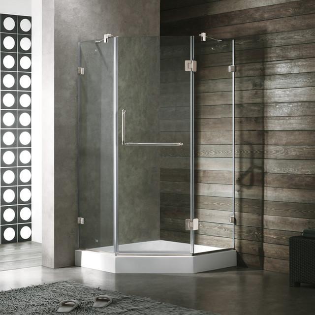 """VIGO VG6062BNCL36W 36"""" x 36""""  Shower Enclosure traditional-showers"""