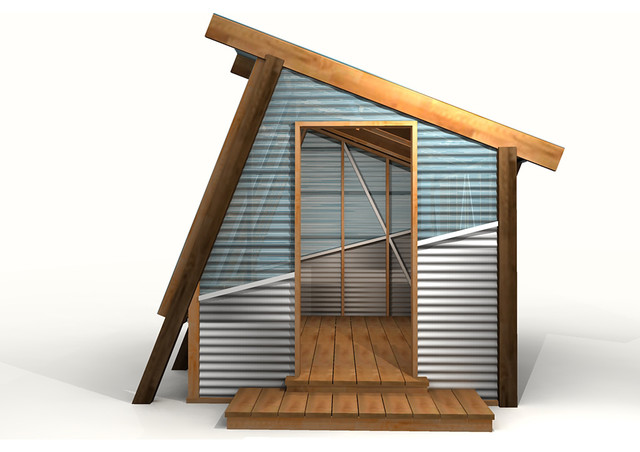 Modern greenhouse contemporary rendering salt lake for Modern greenhouse design