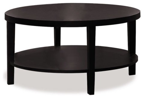 Avenue six merge 36 inch round coffee table round coffee for Coffee tables 36 inches
