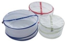 Collapsible Mesh Food Covers contemporary-food-containers-and-storage
