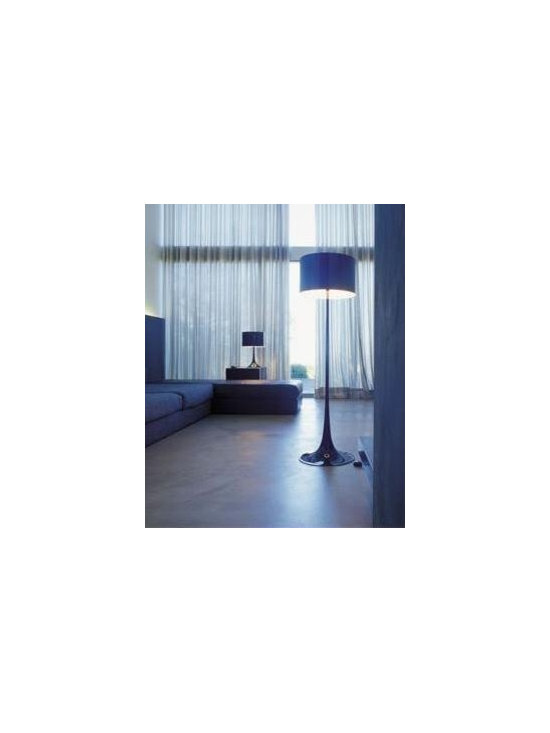 Spun Light Floor Lamp By Flos Lighting - The Spun Light Floor Lamp from Flos is all about simplicity.
