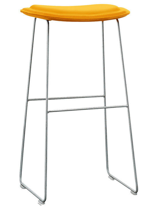 Cappellini CPE1011Hi Pad Counter Stool   All Modern -