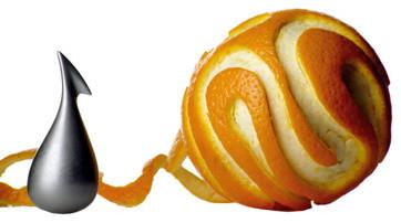 Alessi Apostrophe Orange Peeler modern-graters-and-peelers