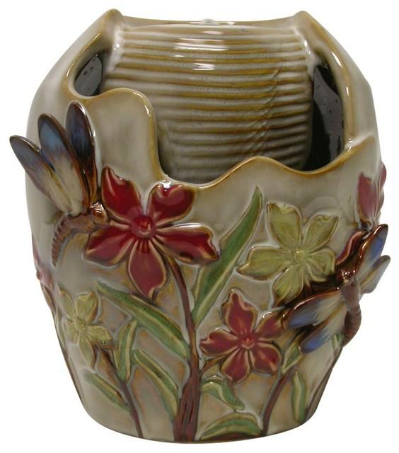 Ceramic Pot Fountains: Ceramic Tabletop Fountain