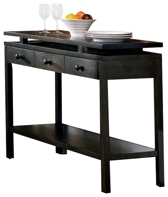 Optima server transitional console tables