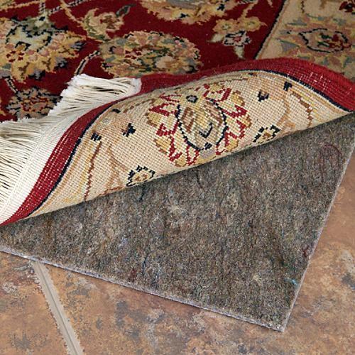 Reversible Nonslip Area Rug Grip (Carpet & Solid-surface Flooring) - 2' x 12' traditional-carpet-tiles