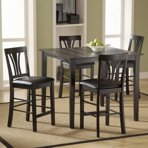 Fairmont 5 pc. Counter Height Dinette Set contemporary-dining-tables