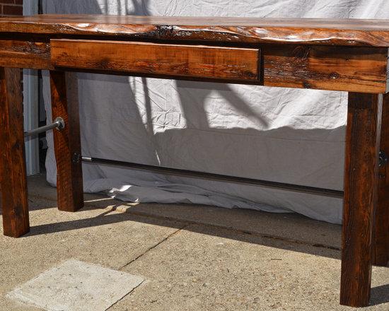 Reclaimed Things - Reclaimed Wood Standing Desk - Reclaimed Things