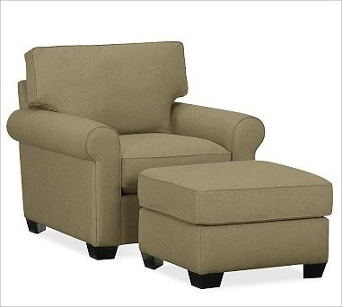 Buchanan Armchair, everydaysuede(TM) Jadestone traditional-armchairs-and-accent-chairs