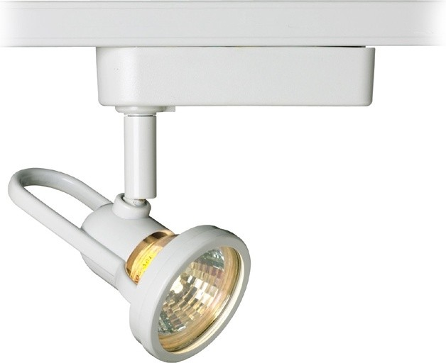 WAC White Aiming Track Head Light for Juno Track Systems - Contemporary - Track Heads And ...