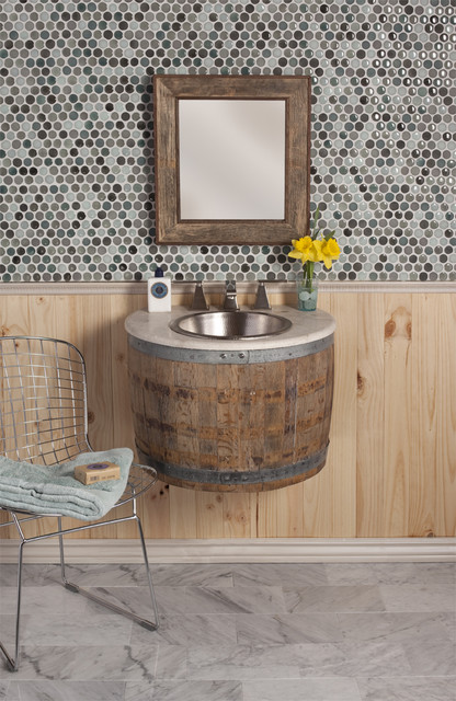 Bordeaux Wall Mount Vanity by Native Trails eclectic-bathroom-vanities-and-sink-consoles