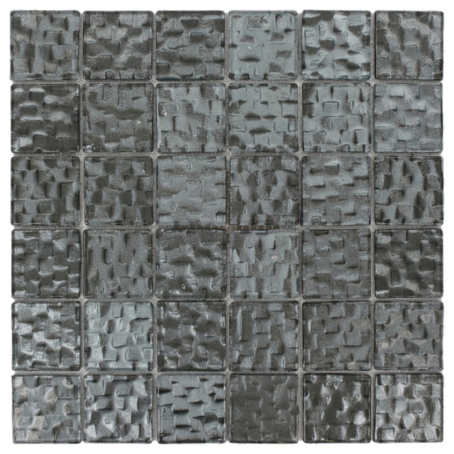 Terrene Chrysler 2x2 Glass Tile contemporary-tile