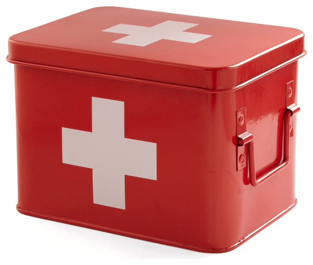 Head Over Healing First Aid Box - Contemporary - Emergency And First Aid Kits - by ModCloth