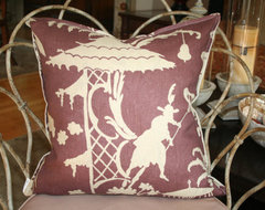 Barbara Barry For Kravet Pillow Cover By Bell and Whistle contemporary pillows