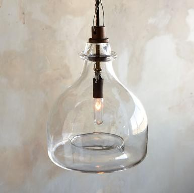 Rivendell Glass Pendant Chandelier eclectic pendant lighting