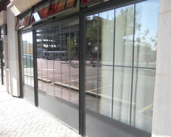 Steel windows and doors -