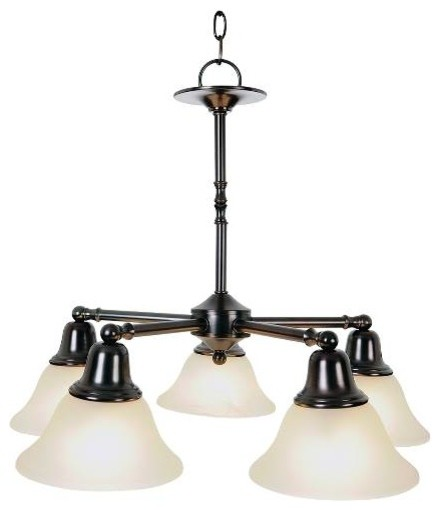 Vanity Light Fixtures Oil Rubbed Bronze : Sonoma Decorative Vanity Fixtures, 5-Light Chandelier, Oil Rubbed Bronze - Modern - Chandeliers ...