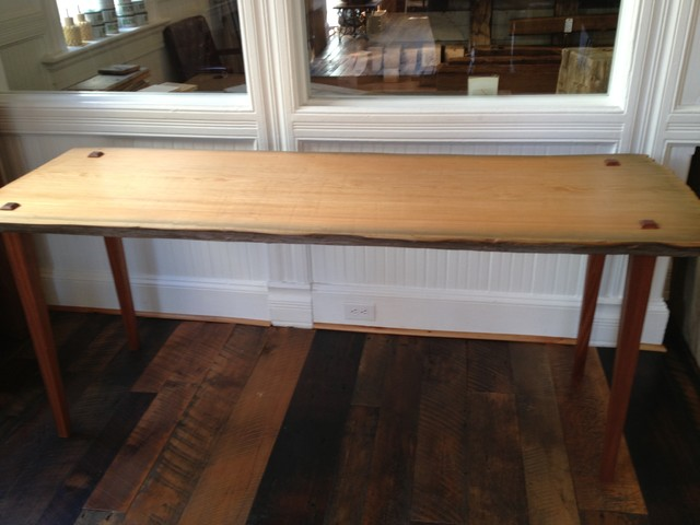 Sinker Cypress Dining Table Traditional Dining Tables Denver