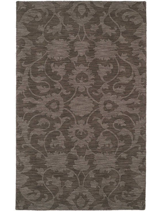 Kaleen - Imprints Classic Ipc02 Mocha Rug - Imprints Classic, where textiles meet fashion. Modern textile designs and todays hottest colors combine to meet the new evolution of this beautiful collection. Straight off the runway and into your home each rug is handmade in India of 100% Virgin Wool.