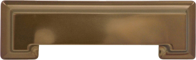 "Studio Collection Veneti Bronze Cup Cabinet Pull, 3"" traditional-cabinet-and-drawer-handle-pulls"