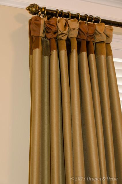 Master Bedroom eclectic-window-treatments