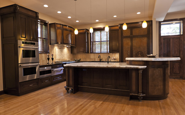 Louis philippe by neff of chicago traditional kitchen for Kitchen chicago