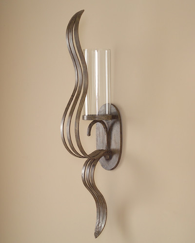 John Richard 39x6x10 Free Form Sculputred Wall Sconce