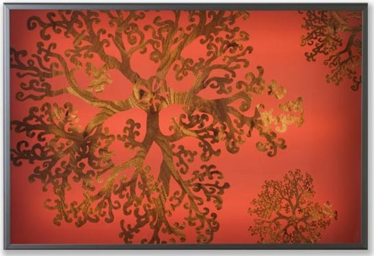Jefdesigns - Gorgonia Lightbox modern artwork