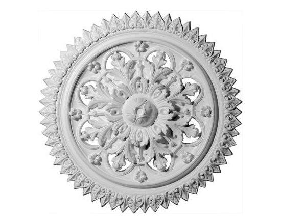 Ekena 21-5/8 in. York Ceiling Medallion-CM21YO at The Home Depot -