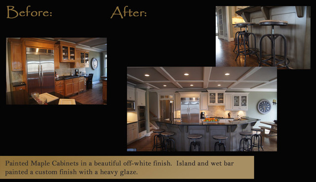 "CCFF ""Before & Afters"" traditional-kitchen"