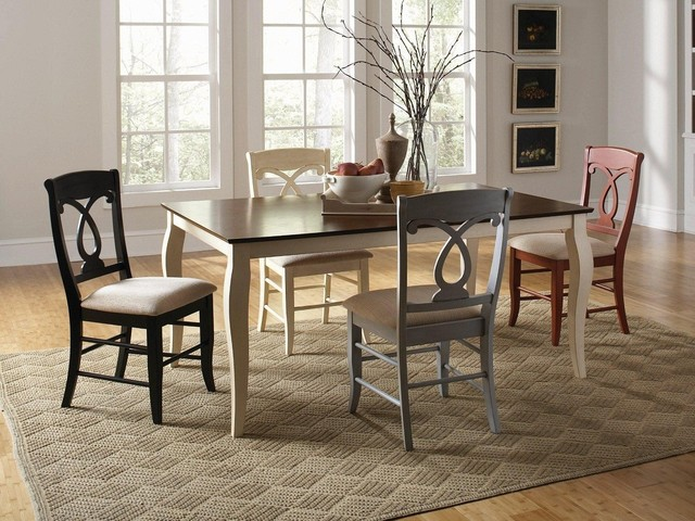 5-Piece Mix-and-Match Dining Set modern-dining-tables