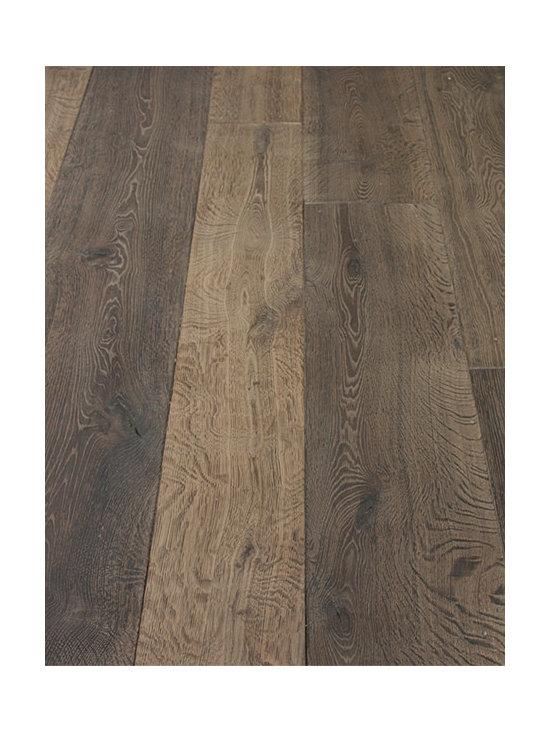 Campagne Gray Custom Aged French Oak floors -