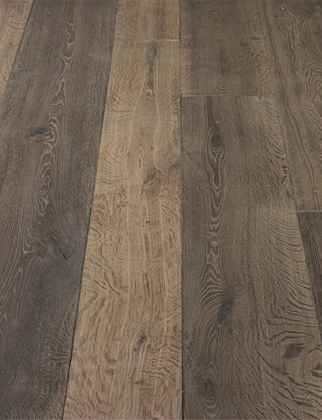 Campagne Gray Custom Aged French Oak floors eclectic-hardwood-flooring