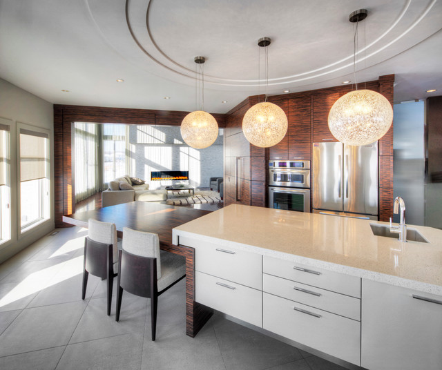 Warm Sophistication Contemporary Kitchen Other Metro By Everitt Design