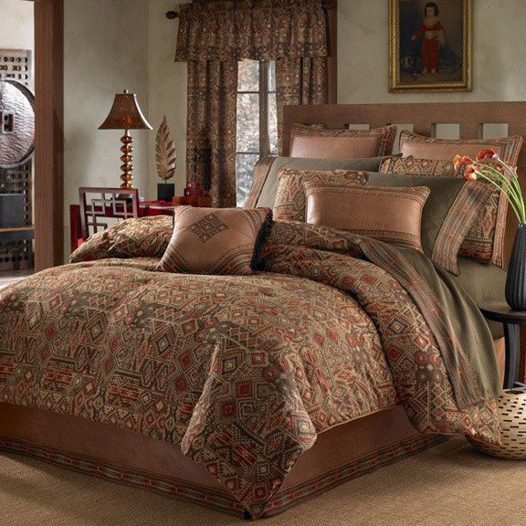 Croscill Yosemite Earth Tone 4 Piece Comforter Set