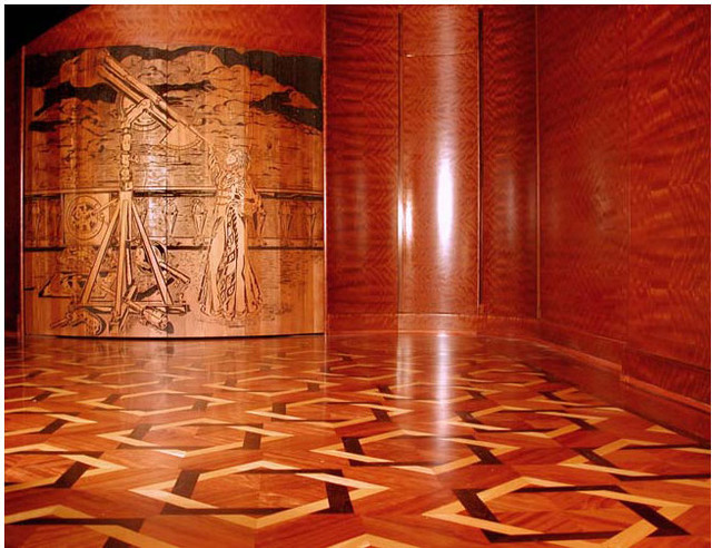 Custom lsolid wood panel flooring traditional hardwood for Custom hardwood flooring