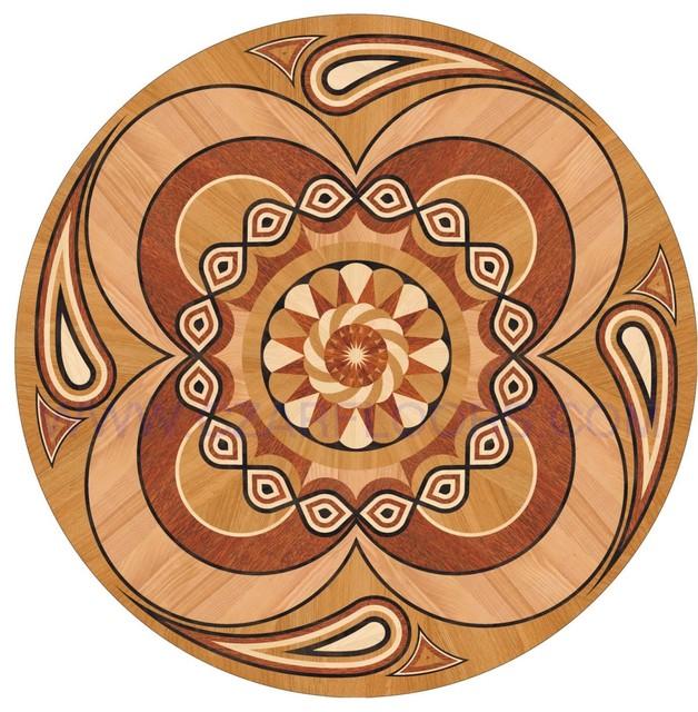 Diy wood inlays plans free for Wood floor medallions inlay designs