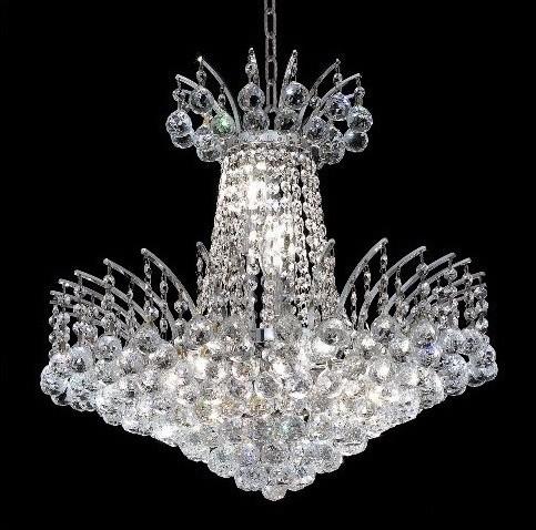 Victoria 8 Light Chandelier modern-chandeliers