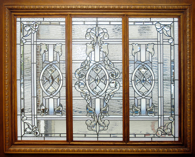 Shop leaded beveled glass window products on houzz for Cincinnati window design