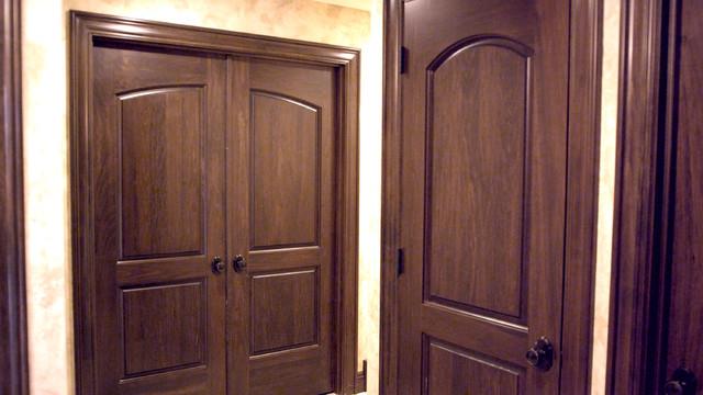 Custom Poplar Continental Interior Doors - Traditional - Interior Doors - other metro - by Baird ...