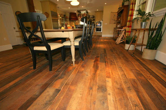 Mink hollow reclaimed oak wood floor rustic new york for Reclaimed wood new york