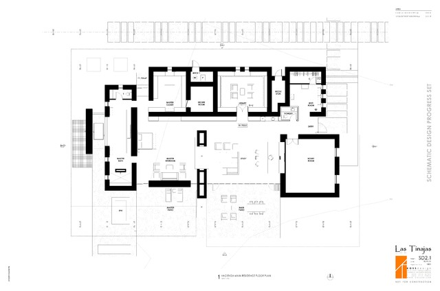 Ranch traditional floor plan other metro by koss Modern ranch floor plans