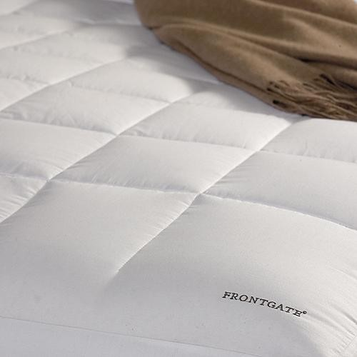 White Goose Down Mattress Pad traditional-sheets